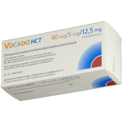 VOCADO HCT 40 mg/5 mg/12,5 mg