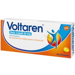 Voltaren® Dolo Liquid 25 mg