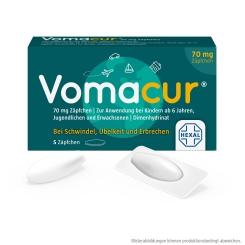 Vomacur® 70 mg Zäpfchen