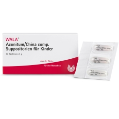 WALA® ACONITUM/CHINA comp. Suppos. Kdr.