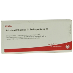WALA® Arteria ophthalmica Gl Serienpackung 3 Ampullen