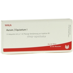 WALA® AURUM/EQUISETUM I Ampullen