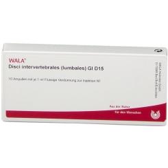 WALA® Disci intervertebrales lumbales Gl D 15