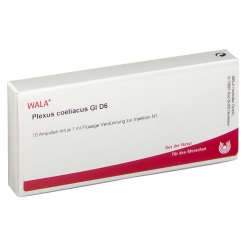 WALA® Plexus coeliacus Gl D 6