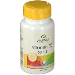 WARNKE Vitamin D3 500 I.E.