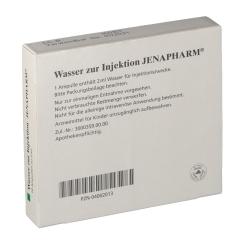 Wasser zur Injektion Jenapharm Amp.