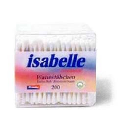 Wattestäbchen Isabelle