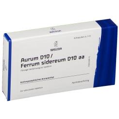 Weleda: Aurum D10 / Ferrum sidereum D10