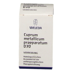 Weleda: Cuprum Metallicum Praep. D30 Trituration