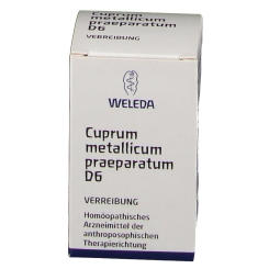 Weleda: Cuprum Metallicum Praep. D6 Trituration