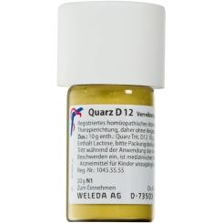 Weleda: Quarz D12 Trituration