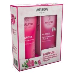 Weleda: Wildrose Verwöhndusche & Harmonisierendes Pflege-Öl