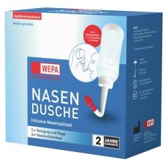 WEPA Nasenspülkanne mit 10 x 2,95 g Nasenspülsalz