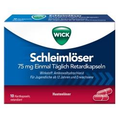 WICK Schleimlöser 75 mg Einmal Täglich
