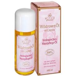 Wilco Natur Wildrosen Öl Bio 100% naturrein mit Jojoba