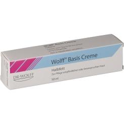 Wolff Basis Creme Halbfett