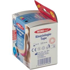 WUNDmed® Kinesiologie-Tape blau 5 cm x 5 m