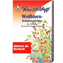 Wurzelsepp® Weissdorn-Kräutertabletten