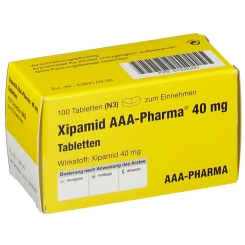 Xipamid 40 mg AAA Pharma Tabletten