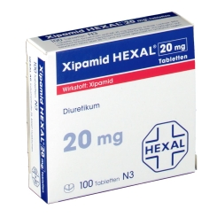 Xipamid Hexal 20 mg Tabletten