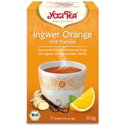 YOGI TEA® Ingwer Orange + Vanille