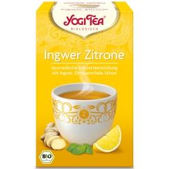 YOGI TEA® Ingwer Zitrone Tee