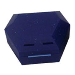 Zahnspangenbox mit Kordel blau