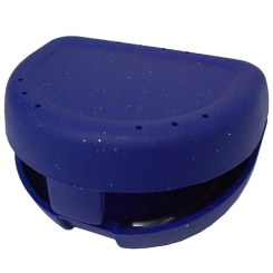 Zahnspangenbox small dunkelblau