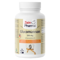 Zein Pharma® Glucomannan Sättigungskapseln