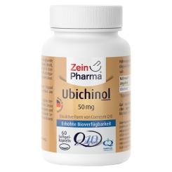 ZeinPharma® Ubichinol Coenzym Q10 50 mg
