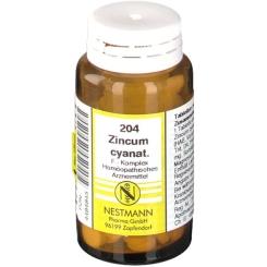 Zincum cyanat F 204 Komplex Tabletten