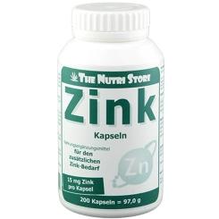 Zink 15 mg Kapseln