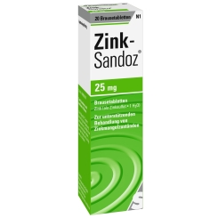 Zink-Sandoz® Brausetabletten