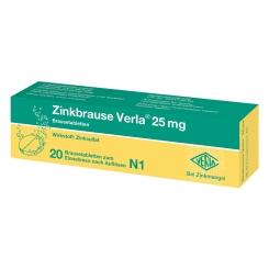 Zinkbrause Verla® 25 mg Brausetabletten