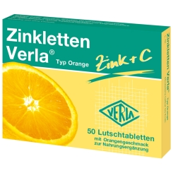 Zinkletten Verla® Orange