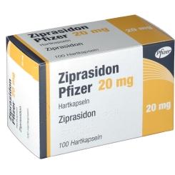 ZIPRASIDON PFIZER 20MG