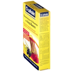 Zirkulin Glucomannan + B-Vitamine mit Acai-Beere
