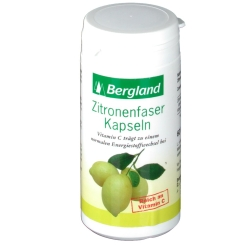 Zitronenfaser Kapseln mit Vitamin C Bergland