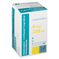 ZOLEDRONSAEURE 1A4MG/100ML