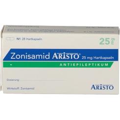 ZONISAMID Aristo 25 mg Hartkapseln