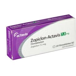 ZOPICLON Actavis 7,5 mg Filmtabletten