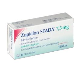 Zopiclon Stada 7,5 mg Filmtabl.
