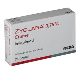 ZYCLARA 3,75% Creme Sachets