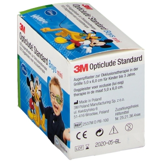 3M Opticlude Augenpflaster Disney Mickey Maus mini