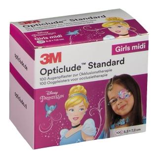 3M Opticlude Augenpflaster Disney Prinzessinen Midi