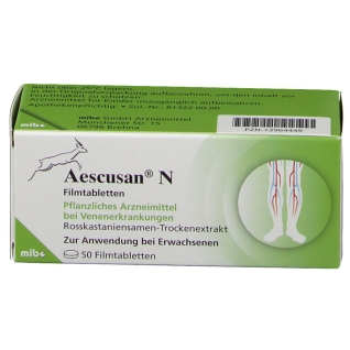 Aescusan 20 mg N