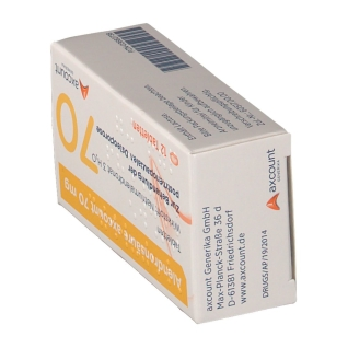 ALENDRONSAEURE axcount 70 mg Tabletten