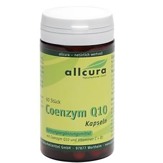 allcura Coenzym Q 10 Kapseln