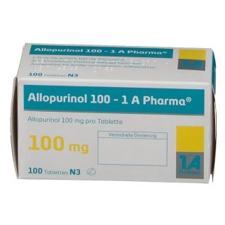 Allopurinol 100 1a Pharma Tabletten