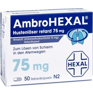 AmbroHEXAL® Hustenlöser retard 75 mg, Hartkapseln, retardiert